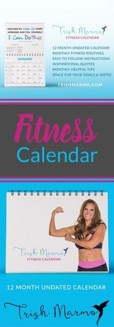 A beautifully designed 12-month UNDATED, fillable calendar packed with a year's worth of at-home workouts (requiring little or no equipment) plus fitness and nutrition tips, designed to help make 2017 your best year yet!
