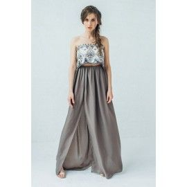 Maxi skirt #romantic #boho
