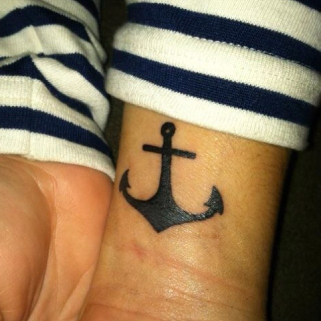 best 25 simple anchor tattoo ideas on pinterest family