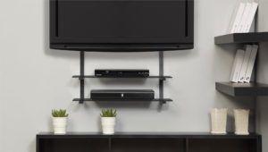 Lcd Tv Swivel Wall Mount With Shelf