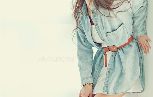 """Ordinary"" denim shirt #fashion"