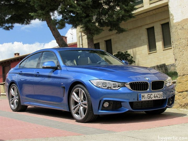 BMW 4er Gran Coupe in Estorilblau mit M Sportpaket