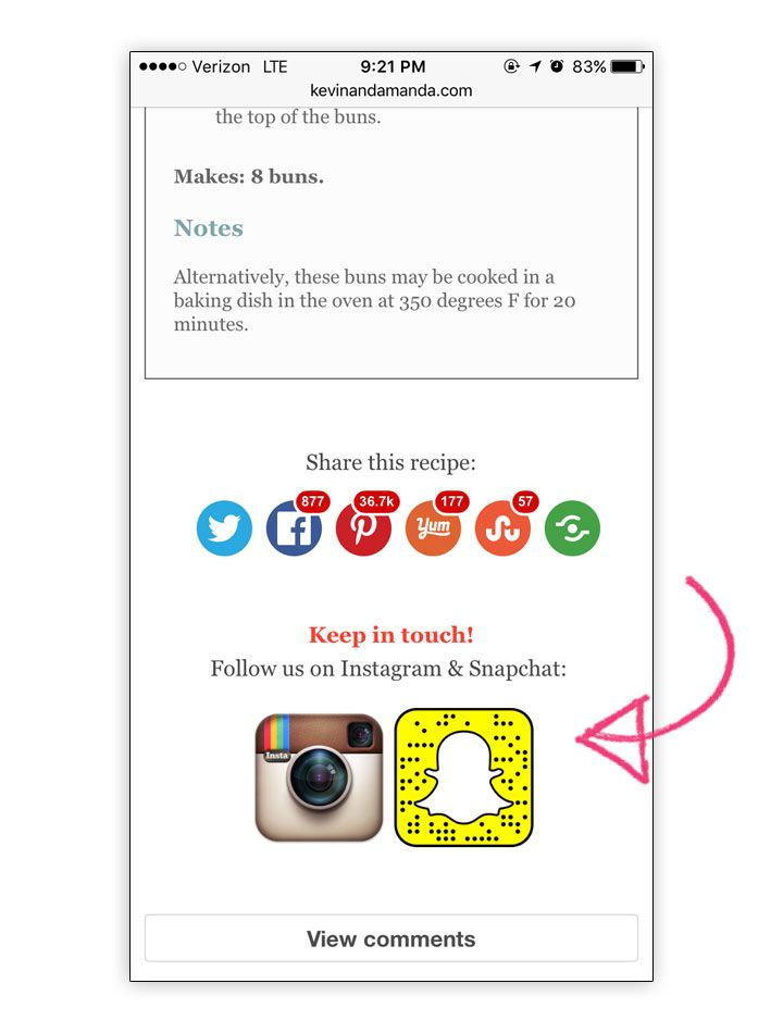 How to Link To Open Your Instagram & Snapchat Profile IN the App!!