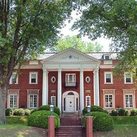 Governor's home in Charleston, West Virginia. Lovely inside.