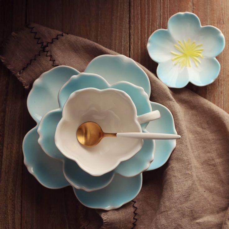 Cheap Japonés ceramiSakura vajilla sets de tres piezas de cerámica tazas y platillos, tazas trajes Europeos, Inglés té de la tarde de té Real, Compro Calidad Juegos de vajilla directamente de los surtidores de China: Japonés ceramiSakura vajilla sets de tres piezas de cerámica tazas y platillos, tazas trajes Europeos, Inglés té de la tarde de té Real