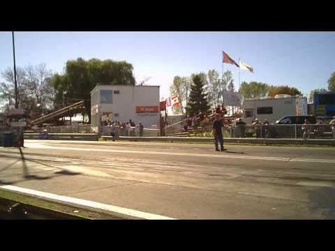 bike, sled, car racing at St. Thomas Dragway, Sparta, Ontario, Thanksgiv...