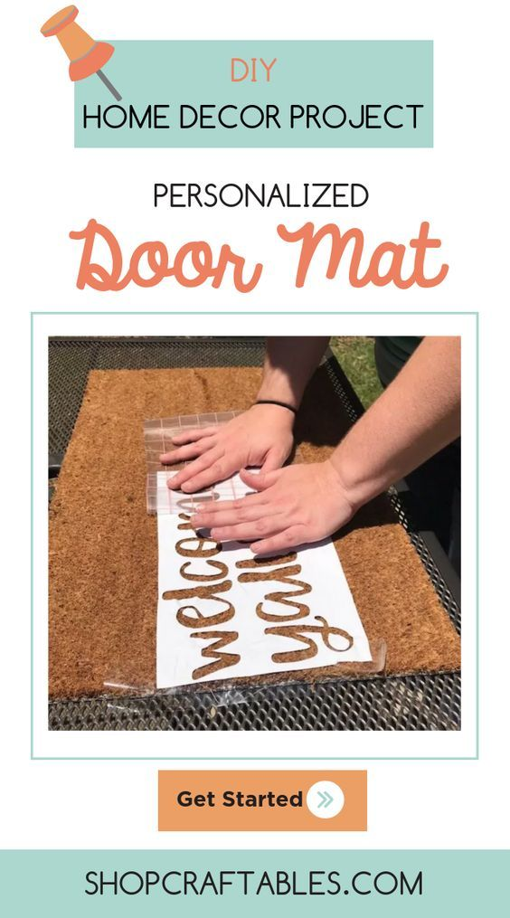 """Impress your guests this holiday season with this """"Welcome"""" personalized doo…"""