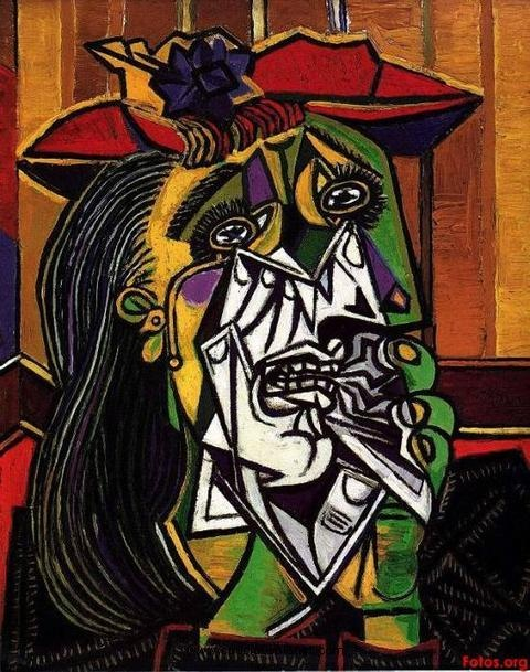 """Pablo Picasso  """"Every act of creation is first of all an act of destruction."""""""
