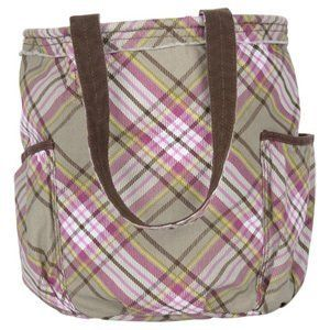 Thirty One Retro Metro Bag Painted Floral Plaid * Read more at the image link.