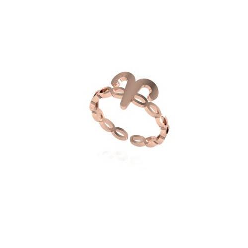 Koç Burç Yüzük - Aries Zodiac Ring