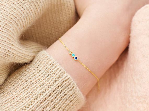 15++ Birthstone bracelet jewelry for mom ideas in 2021