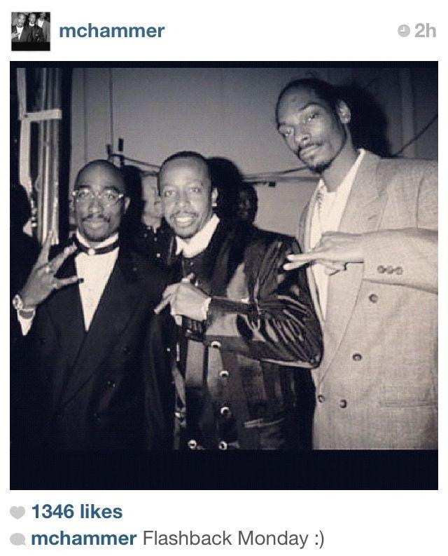 Tupac, Hammer, & Snoop