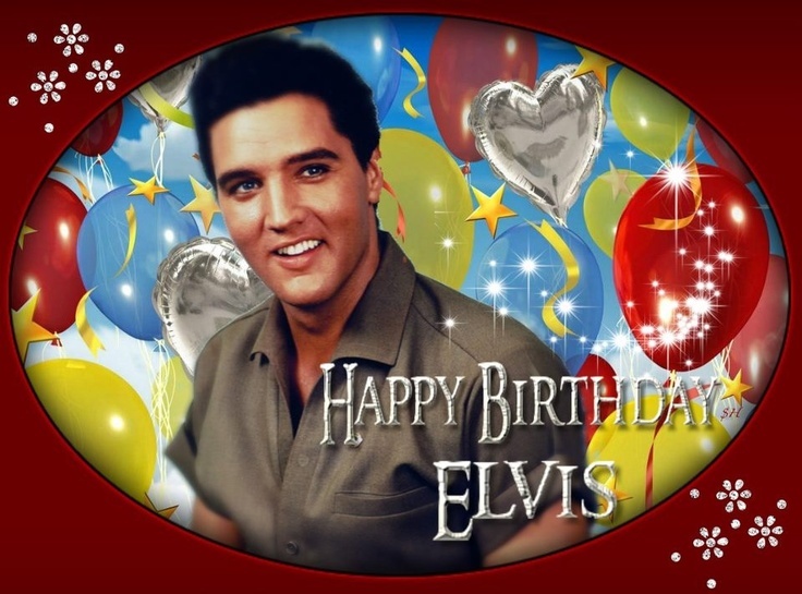 Happy Birthday Elvis!!! Today marks the birthday of Elvis Presley he would have been 78 today!! Born 1/8/1935 <3 <3