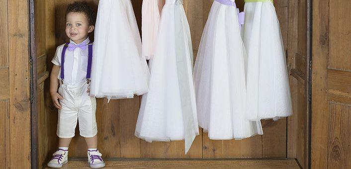 Les petits Inclassables - Bermuda garçon coton ivoire baptême et mariage / Ivory bermuda for pageboys or any baptismal occasion