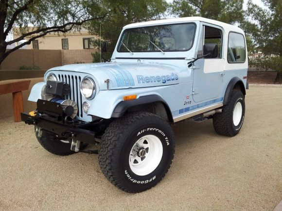 '79 Jeep CJ7 Renegade V8