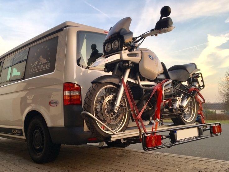 Motorrad Heckträger Grundträger 80 cm x 140 cm