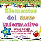 *UPDATED* A 44-page pack of posters about various non fiction text features in spanish. Created for bilingual classes or dual language classes in m...