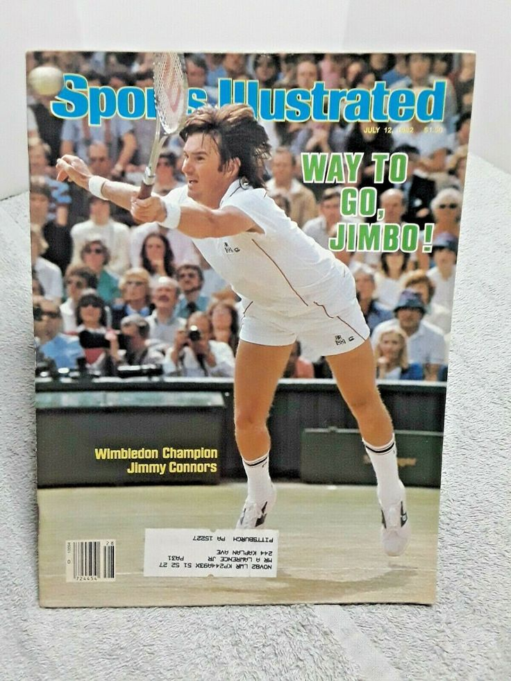 Sports Illustrated July 12 1982 Jimmy Connors Wins