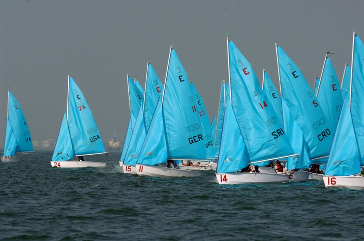 what a photo... turquoise sailboats