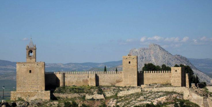 Castillo de Antequera, Málaga, España.