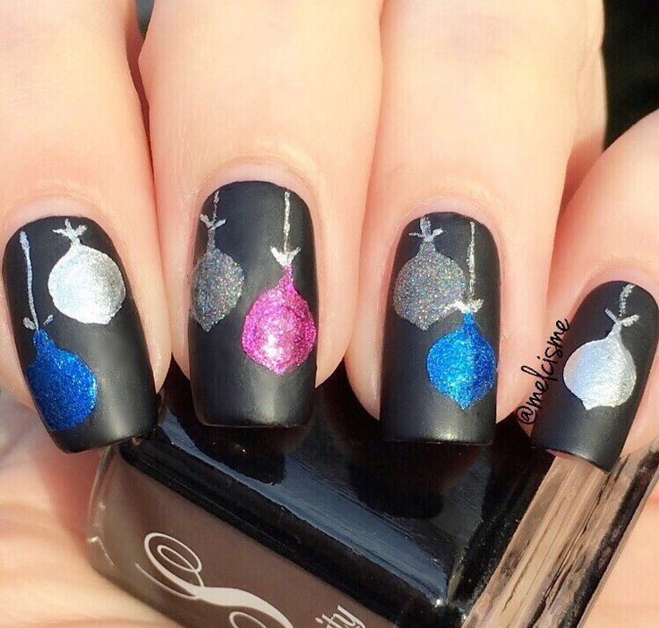224 best christmas and hanukkah manicures images on pinterest fabulous holiday manicure by melcisme using our ornament nail decals found at snailvinyls prinsesfo Gallery
