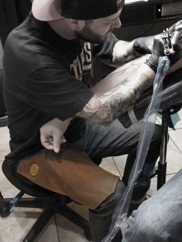 Leg Apron - Canvas [ts-leg-apron-canv] - $75.00 : TATSoul Supplies, Premium Tattoo Supplies and Equipment
