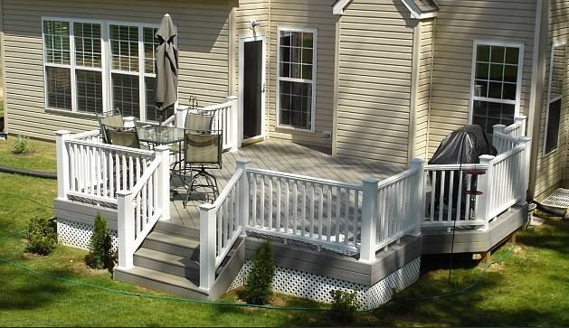 Pictures of decks, deck photos, decking pictures, deck railing ...
