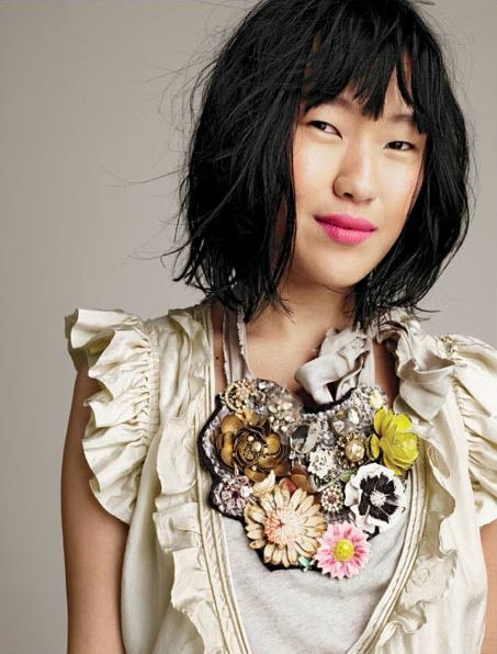 Molly Carey (jewelry designer for J.Crew) - Spotted on The Colorful Living Project