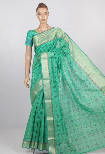 Grap your favourite Online Chanderi silk Cotton Srees at sundarisilks.com