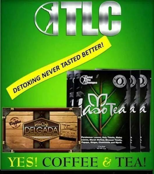 Iaso Tea Detox and Cafe Organic Delgada Burn + Control Weightloss by Total Life Changes for more information about the detox tea and weight lost tea please check out my site https://totallifechanges.com/Starlight20 and if you want to be apart of this amazing company the private message me so we can talk about the benefits of being apart of Total Life Changes.