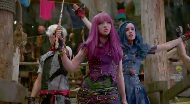 The trailer for #Descendants2 is finally here!