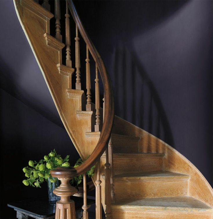 die 25+ besten ideen zu dunkle wandfarbe auf pinterest   dunkle ... - Wohnraumgestaltung In Gedeckten Farben Modern