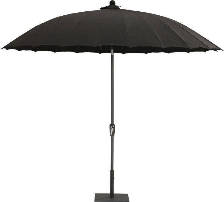 Asia-Sonnenschirm Aluminium «Shanghai 300» Sonnenschutz Kurbel Parasol | Online Shop günstig Angebot