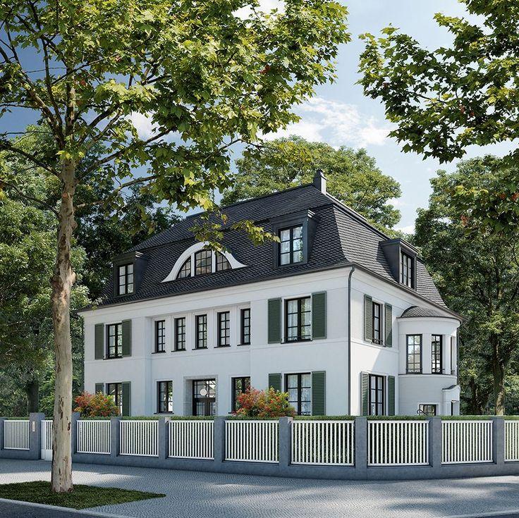 64 best Häuser images on Pinterest | Mansions, Facades and Villas