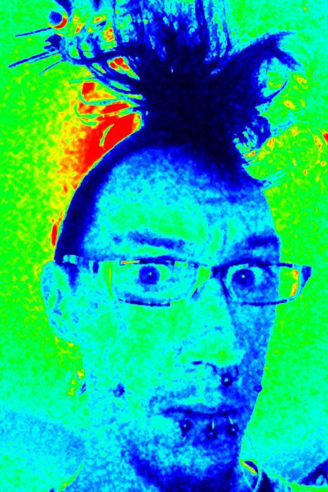 More Edward Scissorhands hair