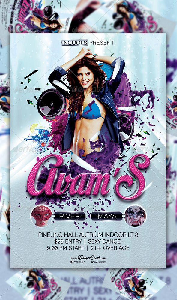 Avams Party Flyer Template