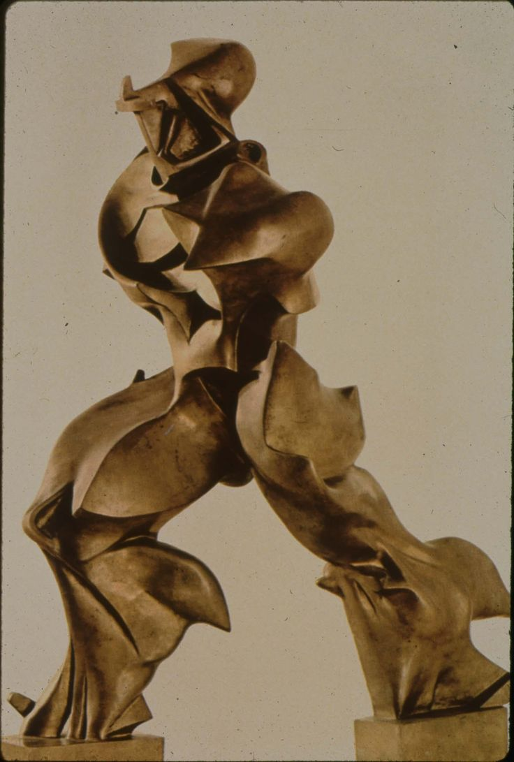 Umberto Boccioni, Unique forms of Continuity in Space, 1913