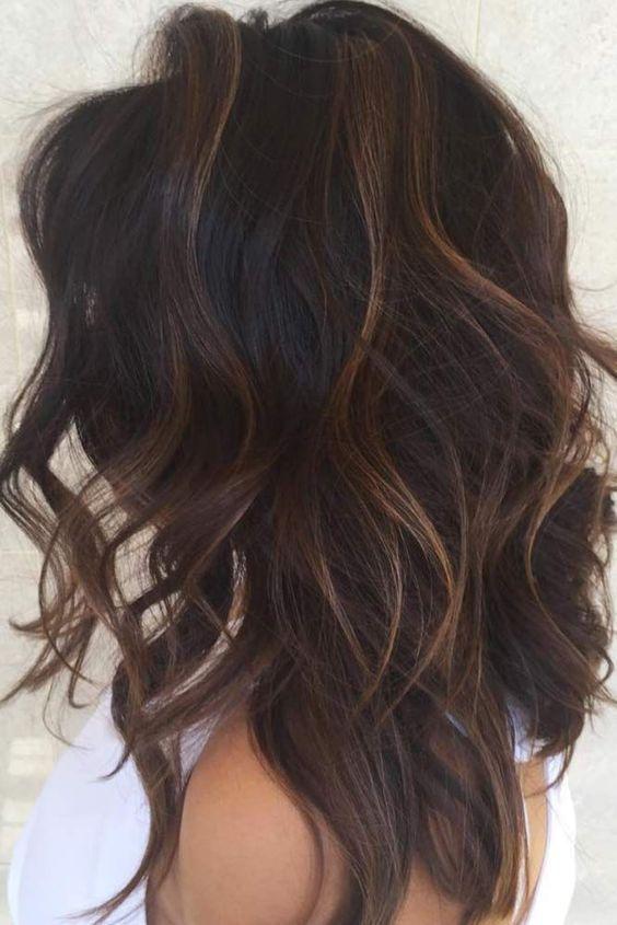 89 Dark Winter Hair Color For Blondes Balayage Brunettes