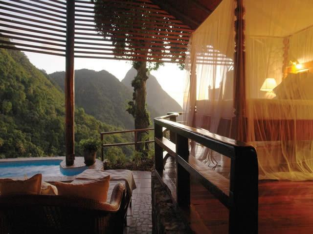 Ladera Resort, St.Lucia, Caraíbas