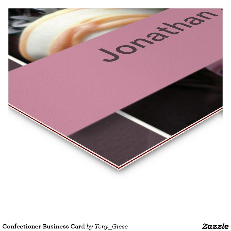 Confectioner Business Card