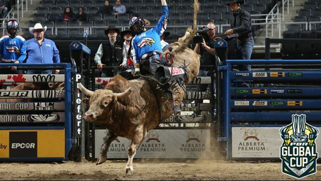 Professional Bull Riders - Melancon showing despite PBR inexperience he belongs