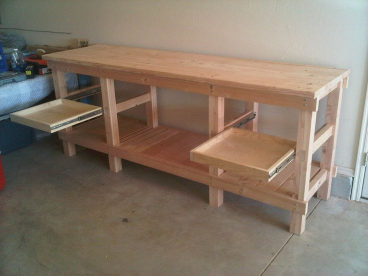 Work Bench - by Lance @ LumberJocks.com ~ woodworking community