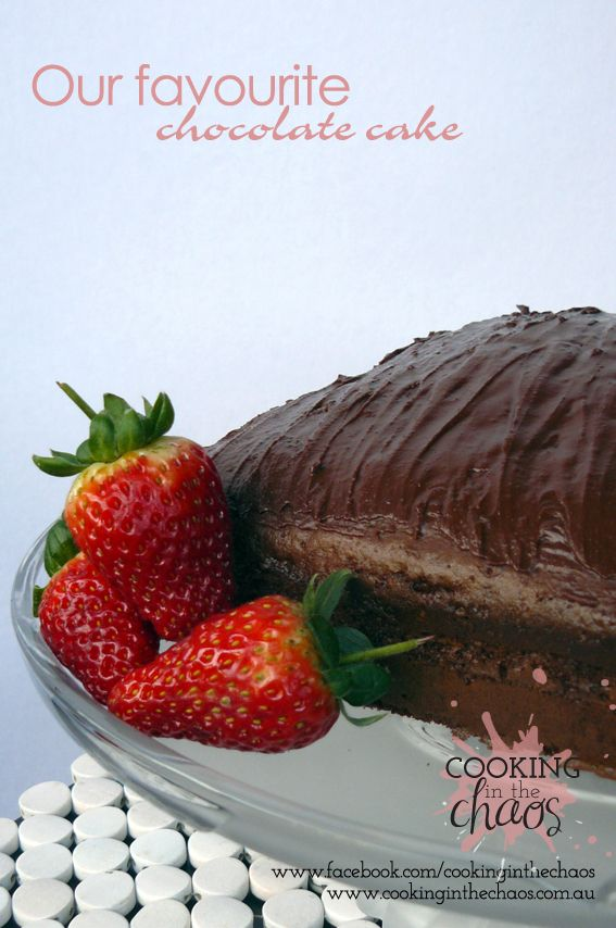 Easy Chocolate Cake - Thermomix