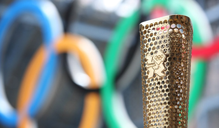 London Olympic Torch Revealed. Ambition: contribute to any upcoming Olympics by design.