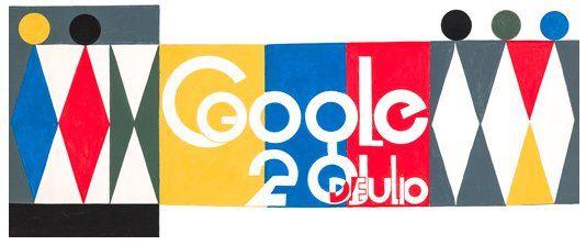 """(Noticias) INDEPENDENCIA DE COLOMBIA DEL 20 DE JULIO DE 2014, EN EL BUSCADOR DE GOOGLE - """"Independencia de Colombia: Google la celebra con un logo del artista Jorge Riveros""""."""