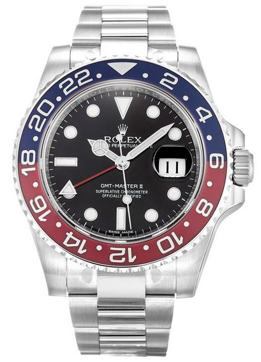Rolex GMT-Master II White Gold Watch 116719 BLRO