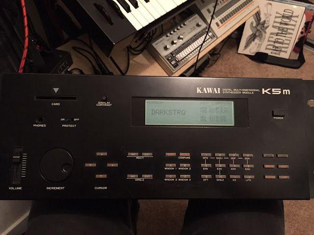 MATRIXSYNTH: Kawai K5M Digital Multi-Dimensional Synthesizer SN...