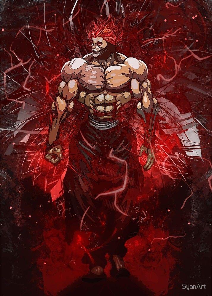 Baki The King Yujiro Hanma By Syanart Manga Anime Anime Anime