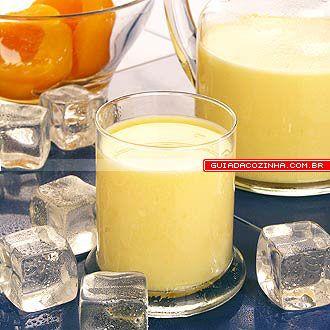 Receita de Batida de pêssego | Guia da Cozinha                                                                                                                                                                                 Mais