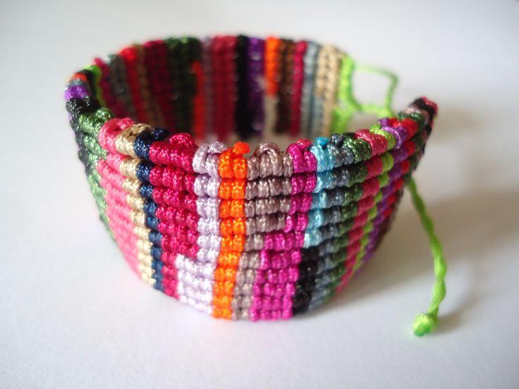 macrame https://www.etsy.com/listing/225589635/macrame-handmade-bracelet?ref=listing-shop-header-3